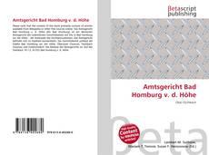 Borítókép a  Amtsgericht Bad Homburg v. d. Höhe - hoz