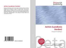 Buchcover von Achim (Landkreis Verden)
