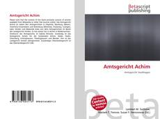 Amtsgericht Achim的封面