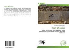 Capa do livro de Jean d'Écosse