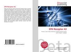 Capa do livro de EPH Receptor A3