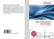 Couverture de Special Enrollment Examination