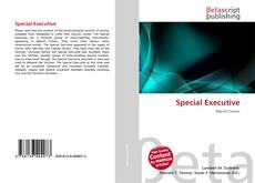 Bookcover of Special Executive