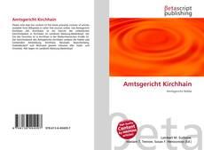 Bookcover of Amtsgericht Kirchhain