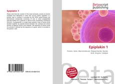 Bookcover of Epiplakin 1