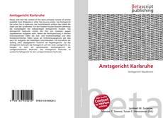 Buchcover von Amtsgericht Karlsruhe