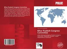 Capa do livro de Bihar Pradesh Congress Committee