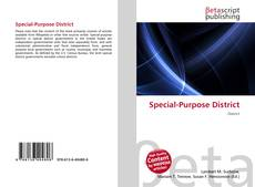 Bookcover of Special-Purpose District