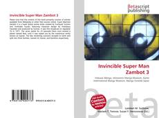 Bookcover of Invincible Super Man Zambot 3