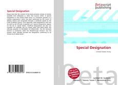 Special Designation的封面