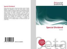 Bookcover of Special Dividend