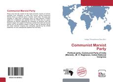 Bookcover of Communist Marxist Party
