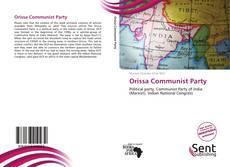 Bookcover of Orissa Communist Party