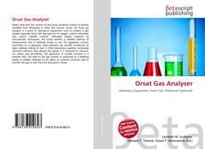 Orsat Gas Analyser kitap kapağı
