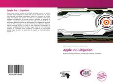 Bookcover of Apple Inc. Litigation