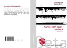 Borítókép a  Amtsgericht Essen-Borbeck - hoz