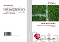 Sean Richardson kitap kapağı