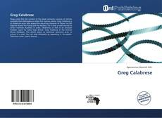Bookcover of Greg Calabrese