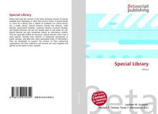 Bookcover of Special Library