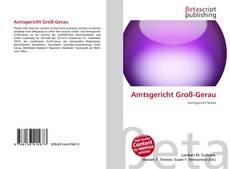 Capa do livro de Amtsgericht Groß-Gerau