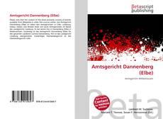 Buchcover von Amtsgericht Dannenberg (Elbe)