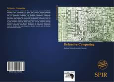 Bookcover of Defensive Computing