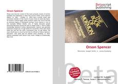 Capa do livro de Orson Spencer