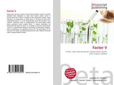 Bookcover of Factor V