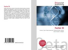 Bookcover of Factor XI