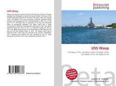 Portada del libro de USS Wasp