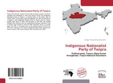 Capa do livro de Indigenous Nationalist Party of Twipra