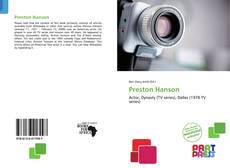 Bookcover of Preston Hanson