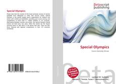 Bookcover of Special Olympics