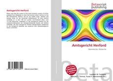 Bookcover of Amtsgericht Herford