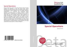 Capa do livro de Special Operations