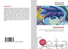 Gomanism kitap kapağı