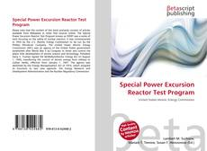 Special Power Excursion Reactor Test Program的封面