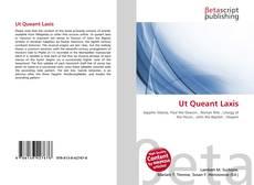 Bookcover of Ut Queant Laxis