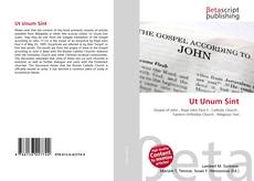 Bookcover of Ut Unum Sint