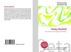 Обложка Rocky Mattioli