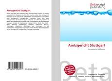 Portada del libro de Amtsgericht Stuttgart