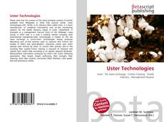Bookcover of Uster Technologies