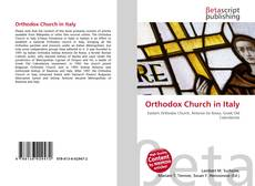 Couverture de Orthodox Church in Italy