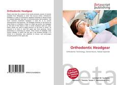Bookcover of Orthodontic Headgear