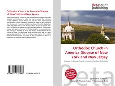 Copertina di Orthodox Church in America Diocese of New York and New Jersey