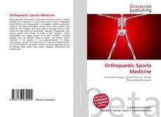 Bookcover of Orthopaedic Sports Medicine