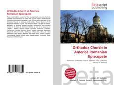 Обложка Orthodox Church in America Romanian Episcopate
