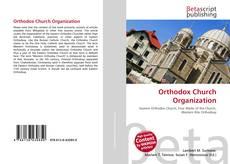 Bookcover of Orthodox Church Organization