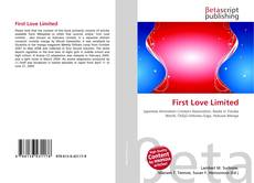 First Love Limited kitap kapağı