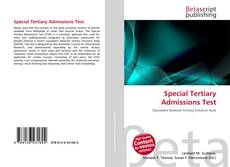 Bookcover of Special Tertiary Admissions Test